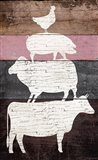 Barn Animals Art Print