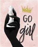 Go Girl, Queen Art Print