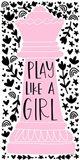 Play Like a Girl II Art Print