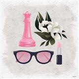 Queen Stuff - Pink Art Print