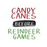 Candy Canes Before Reindeer Games Art Print