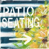 Patio Seating Art Print