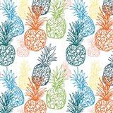 Happy Pineapples Art Print