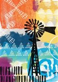 Contemporary Windmill Art Print