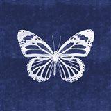 White Butterfly III Art Print