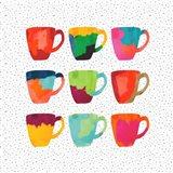 Wild Mugs Art Print