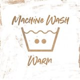Machine Wash - Warm Art Print