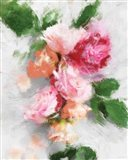 Expressionist Garden I Art Print