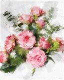 Expressionist Garden II Art Print