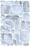 Blue Abstract VI Art Print