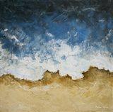 Textured Shoreline Art Print