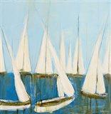 Sailboats II Art Print