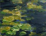 Lilypad Pond Art Print