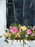 Window Box II Art Print