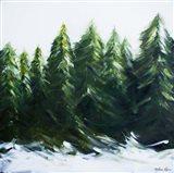 Evergreens Art Print