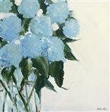 Dusty Blue Hydrangeas Art Print