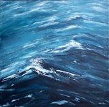 Blue Water II Art Print
