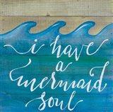 Mermaid Soul Art Print
