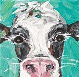 Oreo Cow Art Print