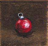 Red Bulb Art Print