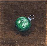 Green Bulb Art Print