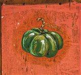 Green Pumpkin Art Print