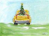 Christmas Pick-Up Art Print