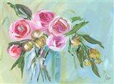 Floral Still Life II Art Print