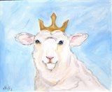 Queen Sheep Art Print