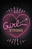 Girl Strong Art Print