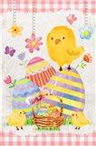 Easter Basket Art Print