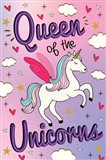 Queen of the Unicorns Art Print
