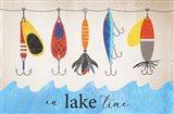 Lake Time Art Print