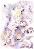 Purple Flowers III Art Print