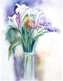 Purple Still Life Art Print