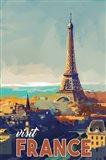 Visit France Art Print