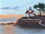 Battery Pt. Lighthouse Art Print