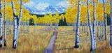 Trail of Mountains Art Print