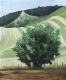 Waitsburg Wheat Country Art Print