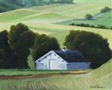 Five Mile Rd Spring Wheat Art Print