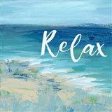 Relax By the Sea Art Print