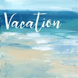 Vacation By the Sea Art Print