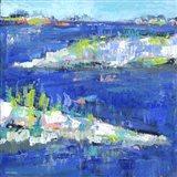 Blue Series Peaceful Art Print