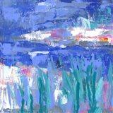 Blue Series Quiet Art Print