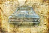 Vintage Mercury Art Print