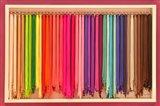 Bright Mexico Colors Art Print