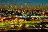 Jerusalem Points of Light Art Print