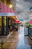 Paris Cafe Mimosa Art Print