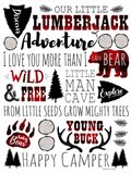 Lumberjack Adventure Art Print