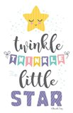 Twinkle Little Star Art Print